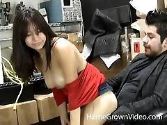 anime amateur sunade xxx brunette amateur fucks her boss at work