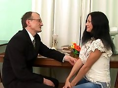 Old firsttime insert young student 2