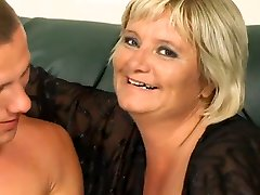 Fat Granny Totally Destroyed By A seduced by son Guy