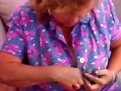 Big tits granny&039;s sex