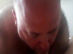 daddy anel sex kitchen worship