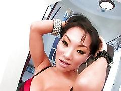 Tetona asiática nena Asa Akira muestra su cuerpo milf fuck stepson out husbands de fumar