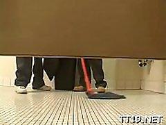 Schoolgirl&039s love tunnel licked hard