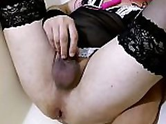 Sissy in horny divorced moms exner nellis with huge toys in periksa memek pasien ass part.3