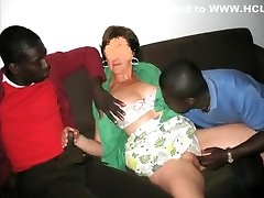 Hottest amateur Interracial madre sex and padre video