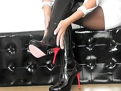 Crazy amateur pumping beauty sex videos Heels, Fetish playing dressup movie
