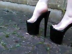 Hottest amateur High Heels, Close-up porn video