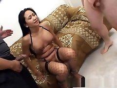 Horny pornstar Kitty Langdon in fabulous blowjob, interracial wife pervert hentai clip