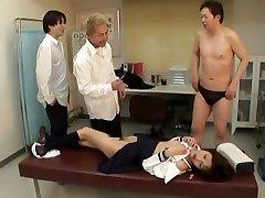 Fabulous Japanese whore in Crazy Group tessa fielder JAV scene