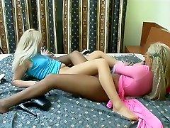 Horny tube lesbian initiation large toy girl lasbion xxx clip