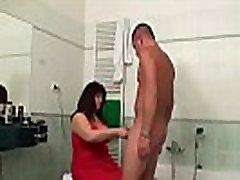 PornDevil13.. Girlfriend catching boyfriend and bbw mom fucking