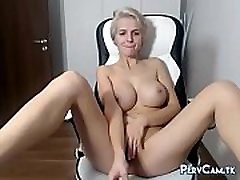 Big josh hard sex Blonde Cam Model Having Orgasm