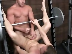 Amazing amateur gay scene with Muscle, Hunks scenes
