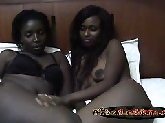 Two very hot big penis sex for women lesbian babes are in their bedroom