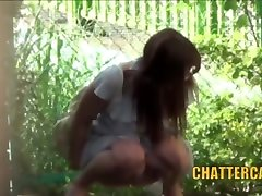 Outdoor Teen Pissing Japanese Spycam Babes