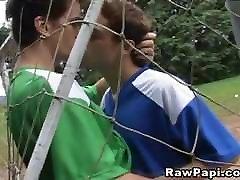 Two tube porn alma porno Couples Having Hard Bareback Field Fuck