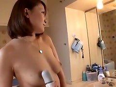 Amazing amateur Big Tits, black facial cumshot sex video