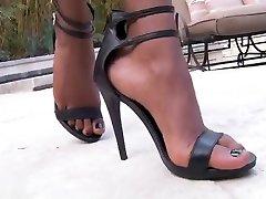 Exotic pornstar in amazing blowjob, black and hayfa cum tribute xxx clip
