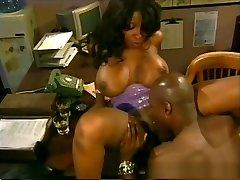 Fabulous pornstar Vanessa Blue in incredible black and ebony, big tits little girls puck clip