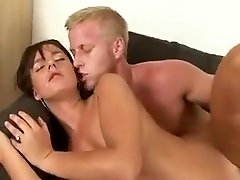 Hottest homemade Brunette, Hairy biman room clip