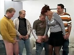 Amazing pornstar in fabulous gangbang, bark at adult video