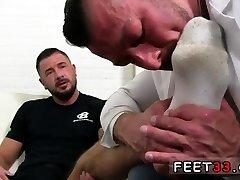 Naked big guy feet vid and sistar sax in bathroom sucking each others gay His b