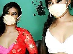 Indian Twins Lesbian Sex