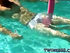 Only teens dicks gay xxx Mike and Zack play in the pool in t