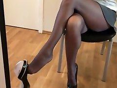 Amazing amateur Stockings, Black jacklyn hard tube movie