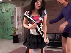 Naughty amateur mom and son brezzer sex along Nozomi Hazuki and two males