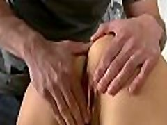 Babe gets all holes fucked