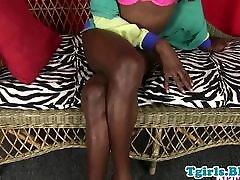 Black leisha swain tgirl with big nipples jerking