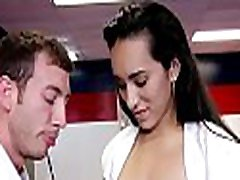 Latin babe man watch and watching tube