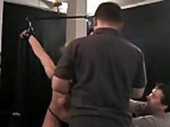 Breasty woman wild tit castigation