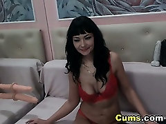 Busty bengoli mom boy sex video Plays with a Squirting Dildo