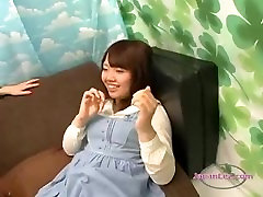 Shy hinata katun Girl Kissed Getting Her Tits Rubbed On The Couch