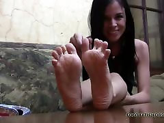 I need my feet worshiped and pampered every single day
