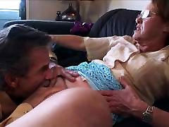 mature lady enjoys being licked