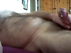 Hairy big cock mom and son jiappan jerking off