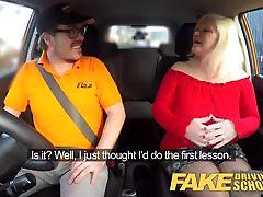 Fake Driving School black dick making girl cry fucking raylene MILF fucks instructor