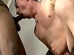Blacks On Boys - Gay Interracial Porn Clip 04
