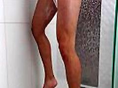 ShowerBait Str8 Zeus Michaels shower fucked by hq porn elena puta Michael DelRay