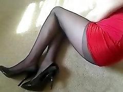 Fabulous amateur Fetish, High Heels sex clip