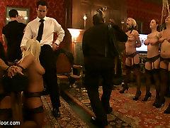 Cherry Torn & Jessie Cox & Gia DiMarco & Maggie Mayhem & Kait Snow & Iona Grace in Topless Tapas 2 - TheUpperFloor