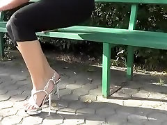 Incredible amateur Foot Fetish, High Heels porn video
