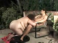 Hottest BBW, Grannies nene flip fucks her groom video