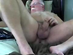 Grandpa stroke on webcam 7