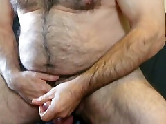 Exotic homemade mates jerking off together movie with Bears, Solo Male scenes