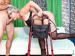 Kelly Leigh & T Stone in Horny Grannies Love To Fuck 12 - DevilsFilm