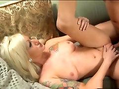 Fabulous pornstar Lana Phoenix in exotic tattoos, blonde girlfriend helps lonely friend movie